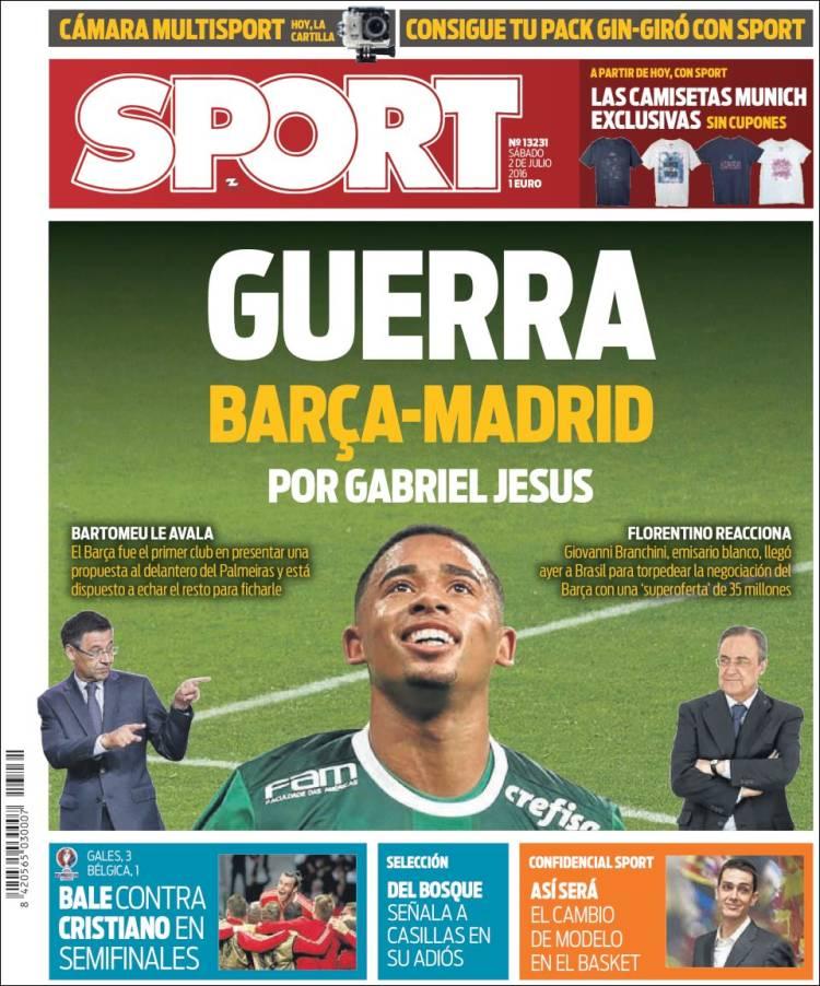 Sport Portada 02.07.16