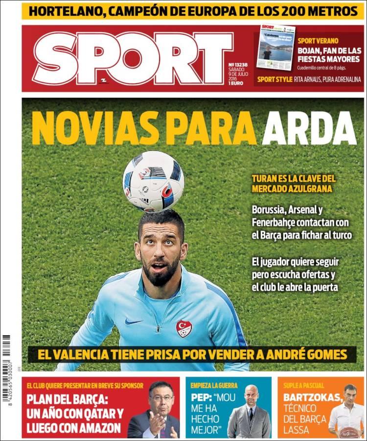 Sport Portada Arda 09.07.16