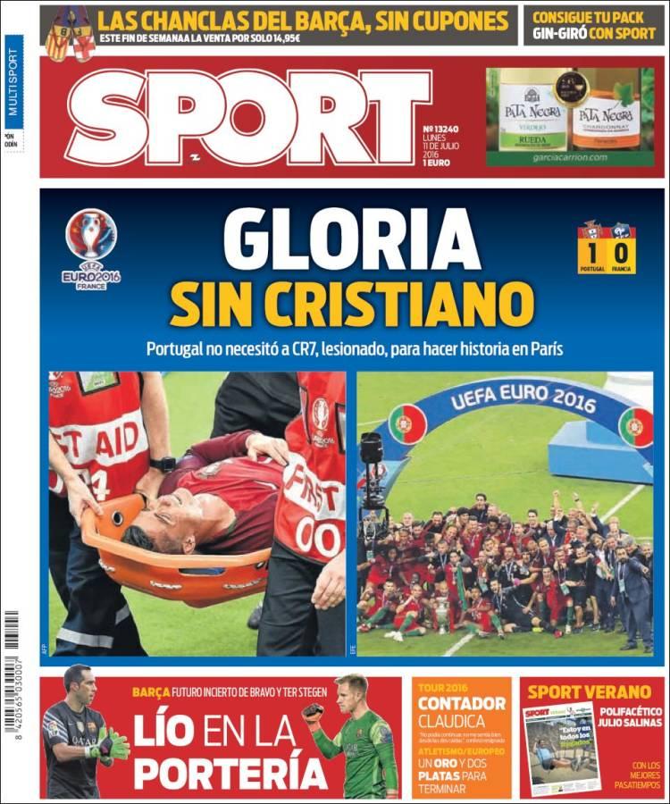 Sport Portada 11.07.16