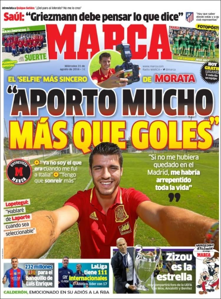 Marca Portada Morata 31.08.16