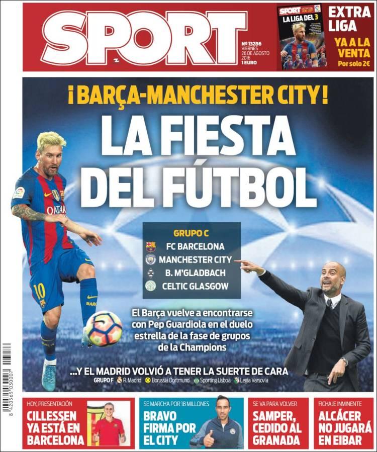 Sport Portada 26.08.16