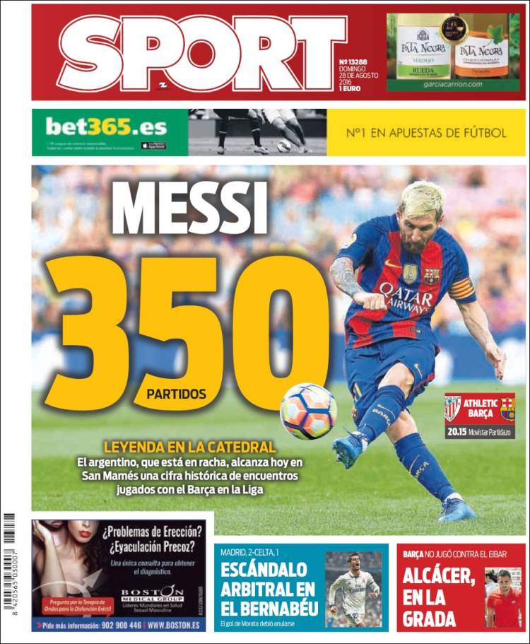Sport Portada 28.08.16