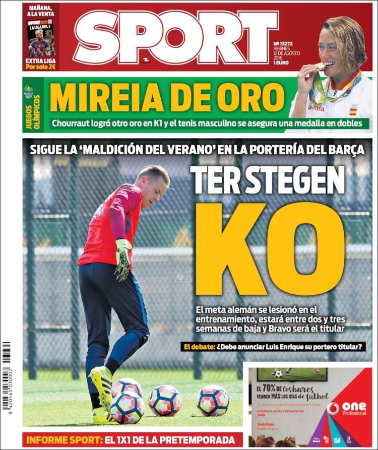 Sport Portada 12.08.16