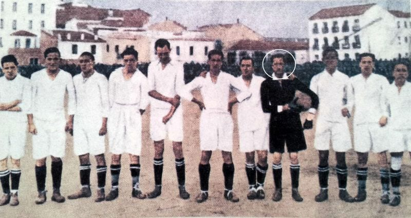 Hernández Coronado Real Madrid 1920