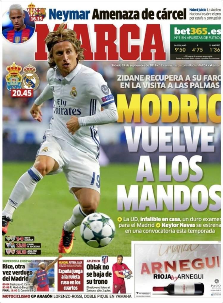 Marca Portada Modric 24.09.16