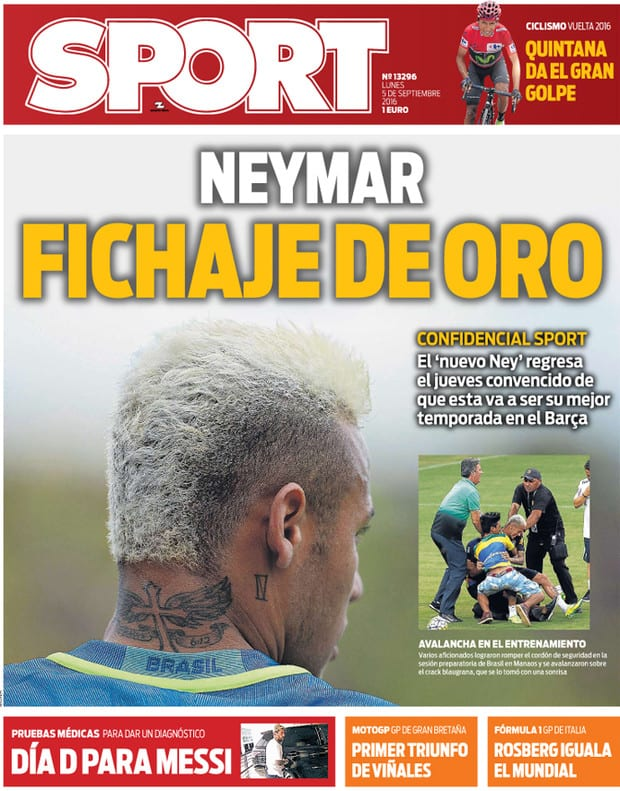 sport neymar rubio