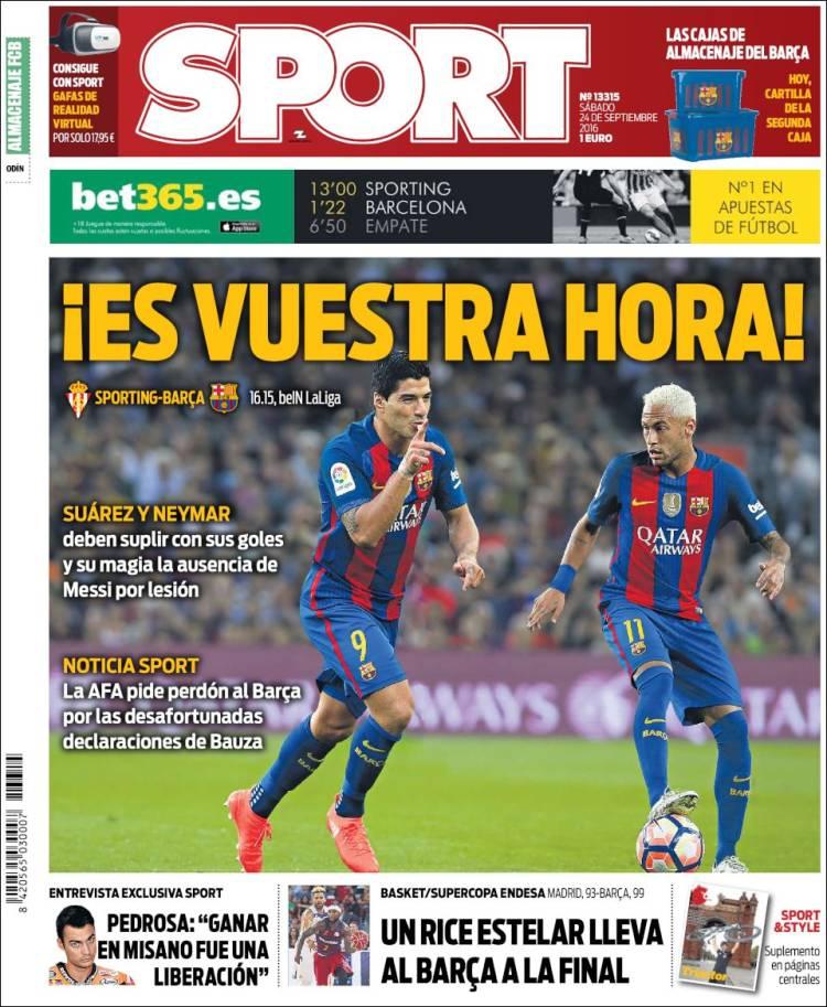 Sport Portada 24.09.16