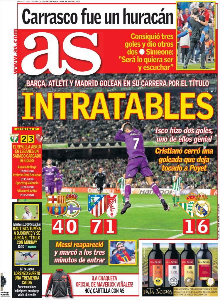 As Portada Intratables 16-10-16