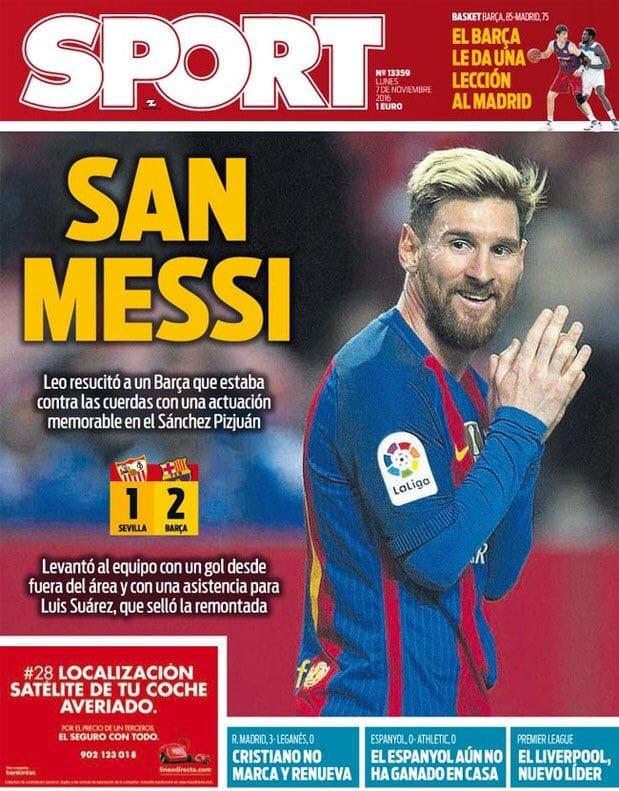 San Messi (Sport)