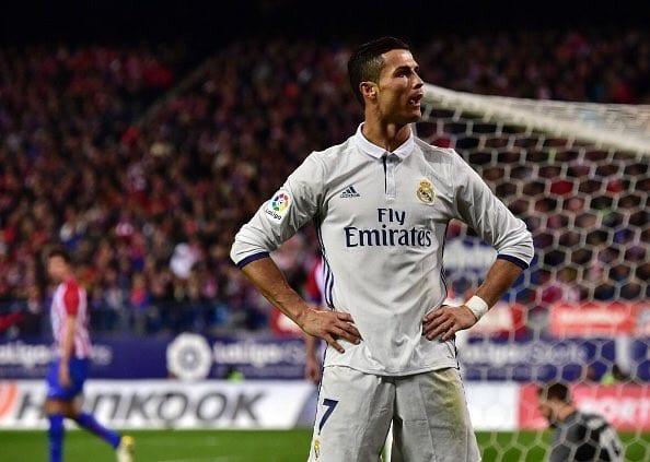 Cristiano Ronaldo (Foto Twitter Madrid Sports)