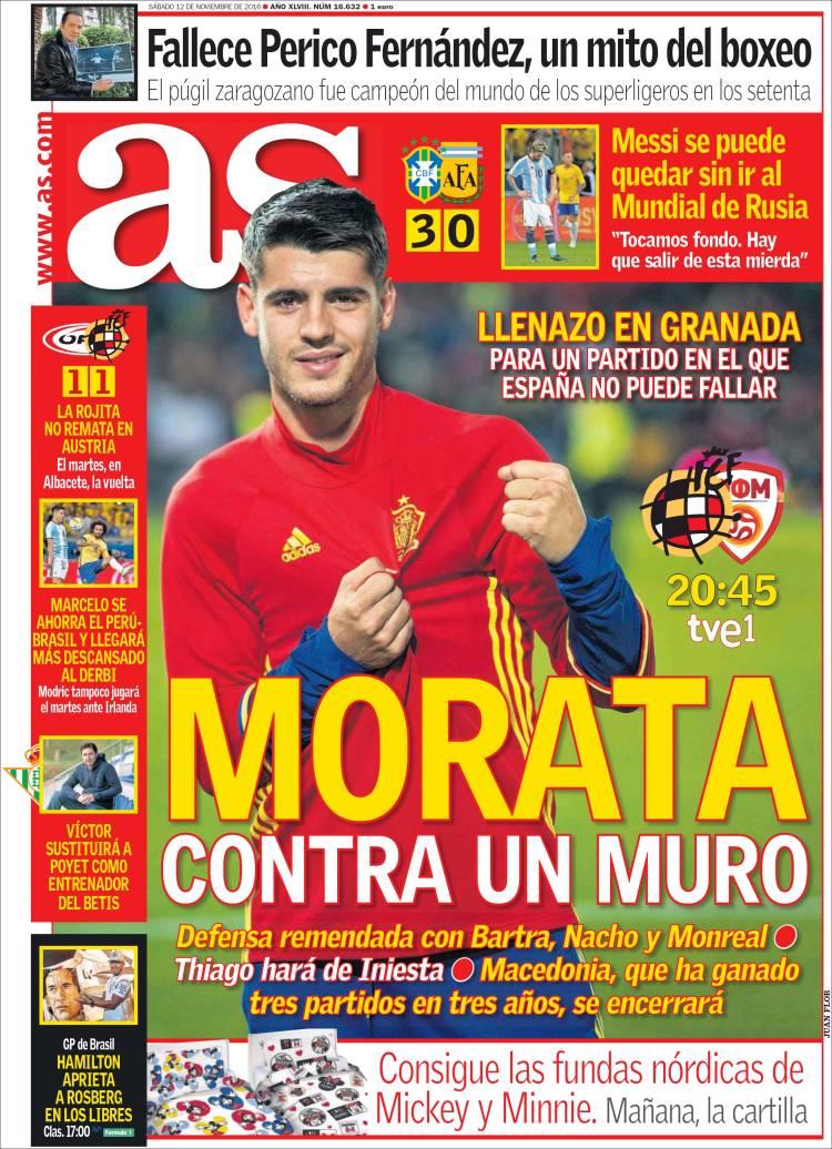 As Portada Morata 12.11.16
