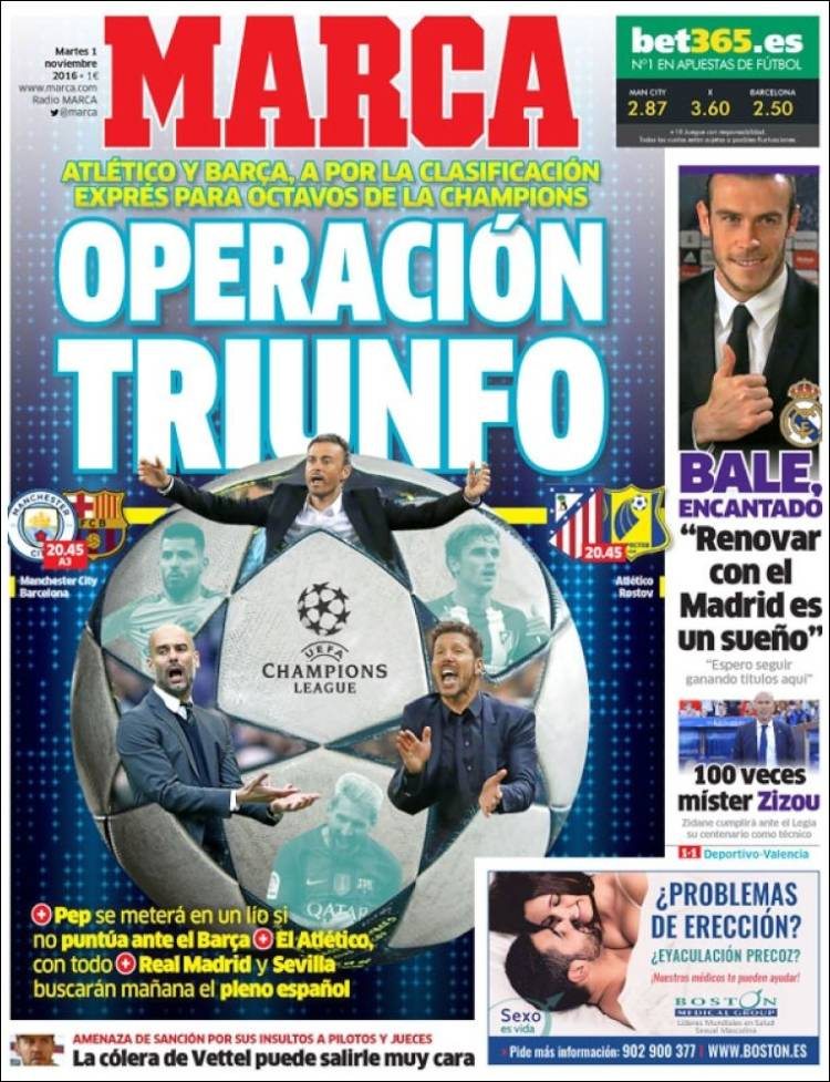 Marca Portada Operación Triunfo 01.11.16