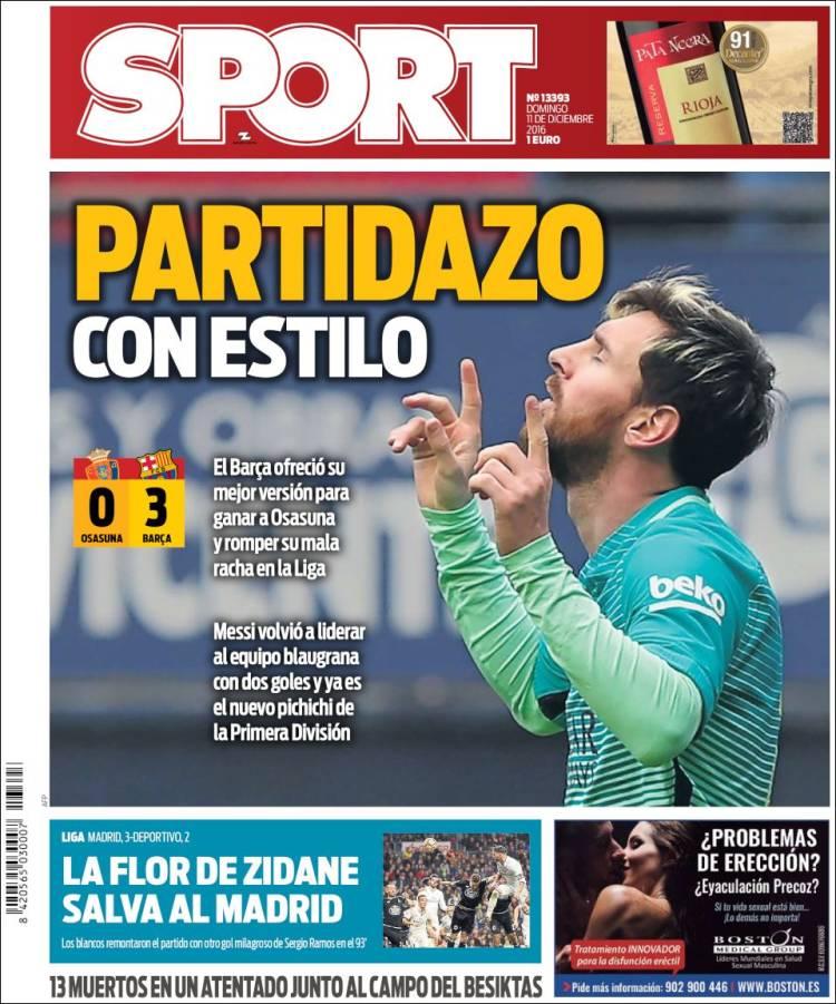 Sport Portada Palo 08.12.16