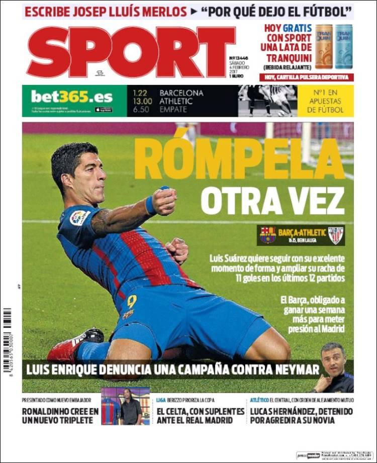Sport Portada 04.02.17