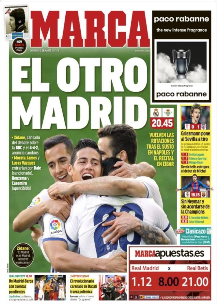 Marca Portada El otro Madrid 12.03.17