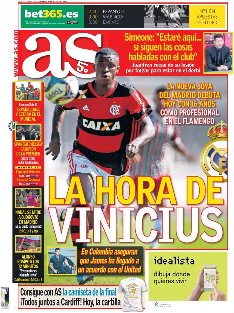 As Portada Vinicius 13.05.17
