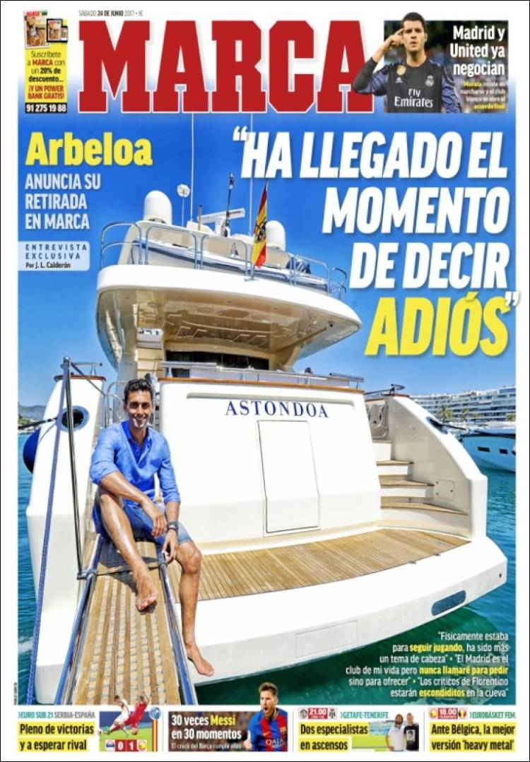 Marca Portada Arbeloa 24.06.17