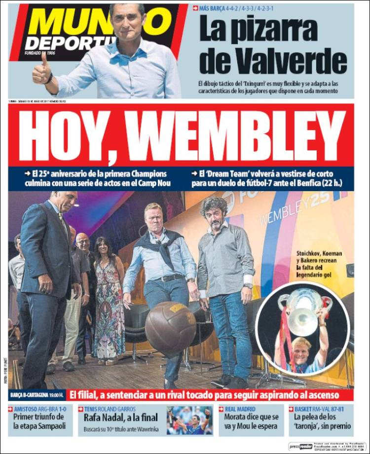 Mundo Deportivo Wembley 10.06.17