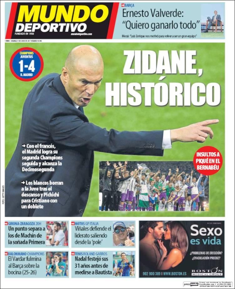 Mundo Deportivo Portada 12 04.06.17