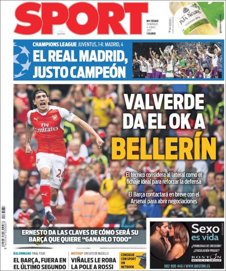 Sport Portada 12 04.06.17