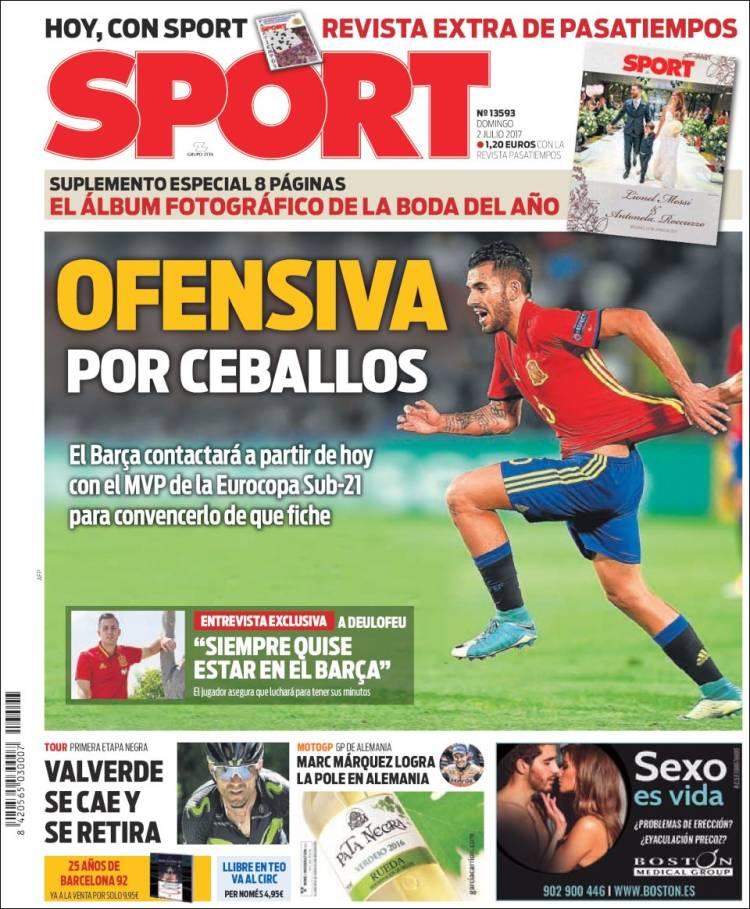 Sport Portada Ceballos 02.07.17