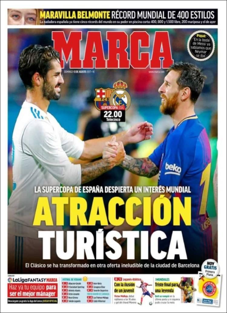 Marca Portada Supercopa 13.08.17