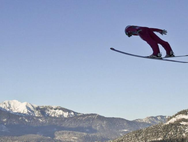 esquí del trampolín de Garsmich