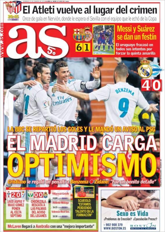 As Portada Optimismo 25.02.18
