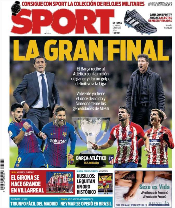 Sport Portada Final 04.03.18