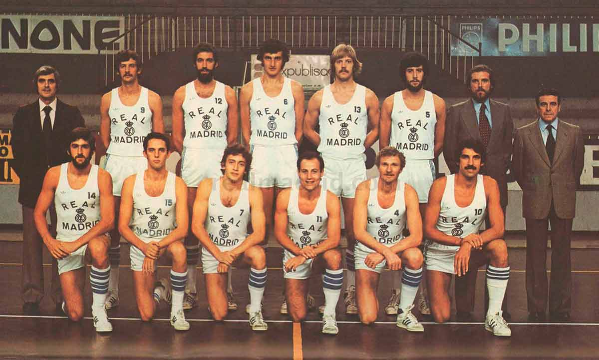 Real Madrid baloncesto 1979