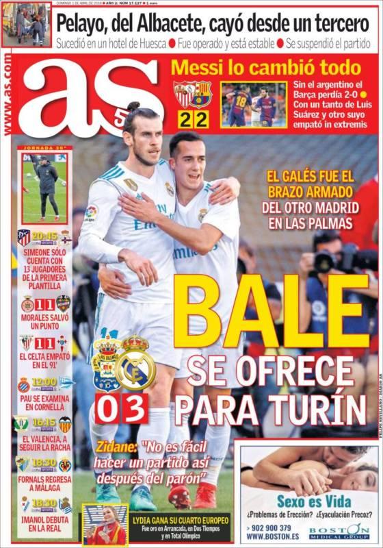 As Portada Bale 01.04.18