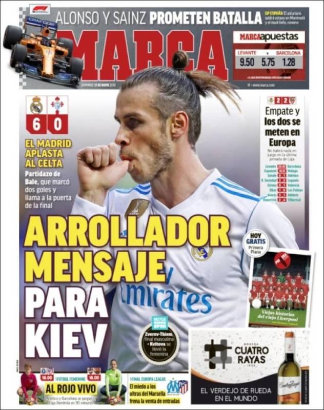 Marca Portada Bale Celta 13.05.18