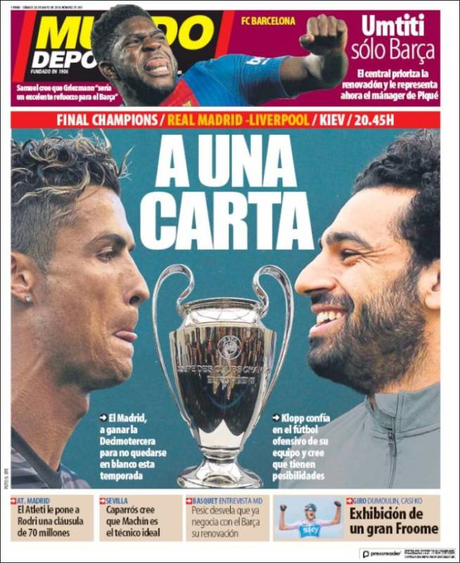 MD Portada Previa Champions 26.05.18