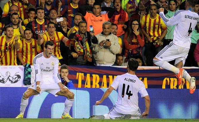 El gol de Bale