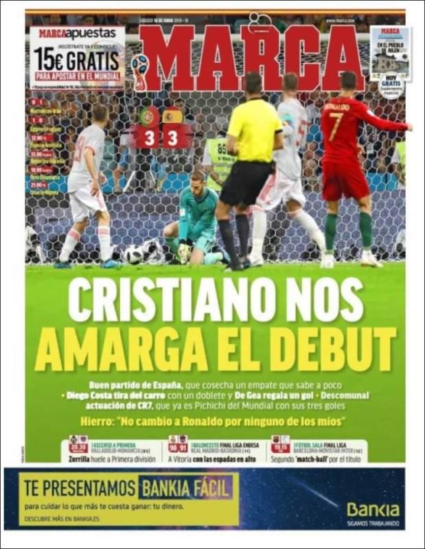 Marca Portada España-Portugal 16.08.18