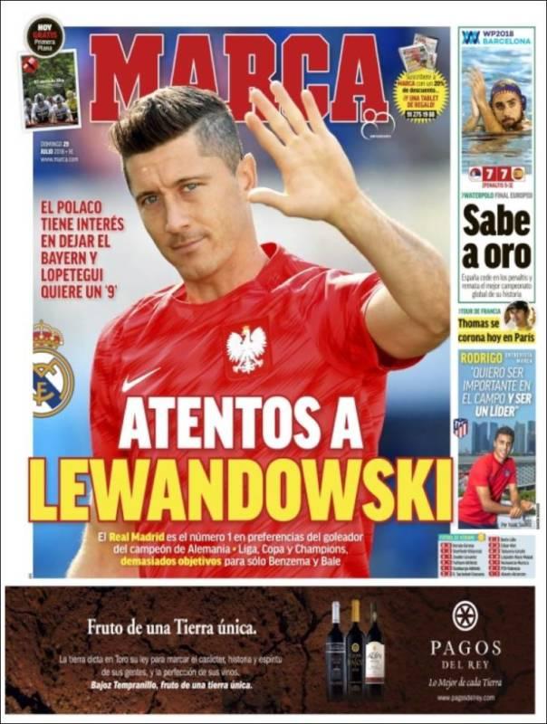 Marca Portada Lewandowski 29.07.18