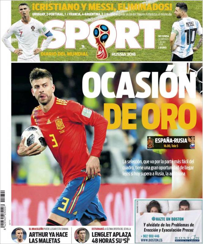 Sport Portada 01.07.18
