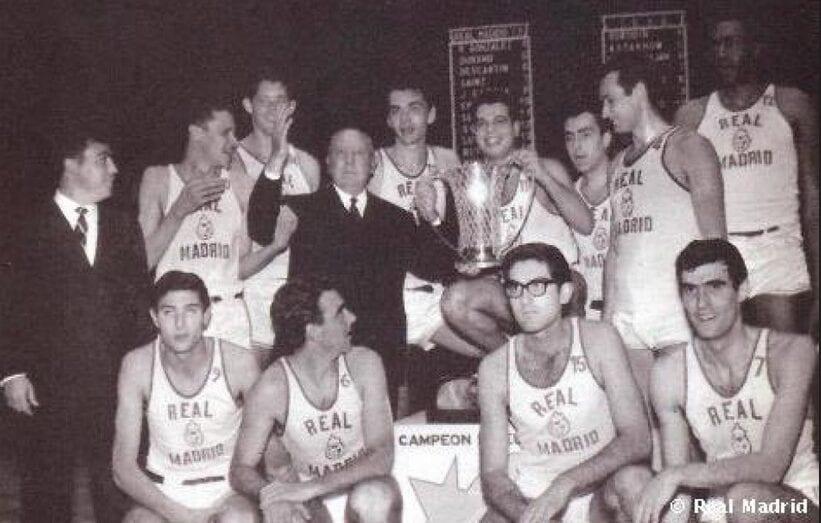 Copa de Europa Real Madrid baloncesto