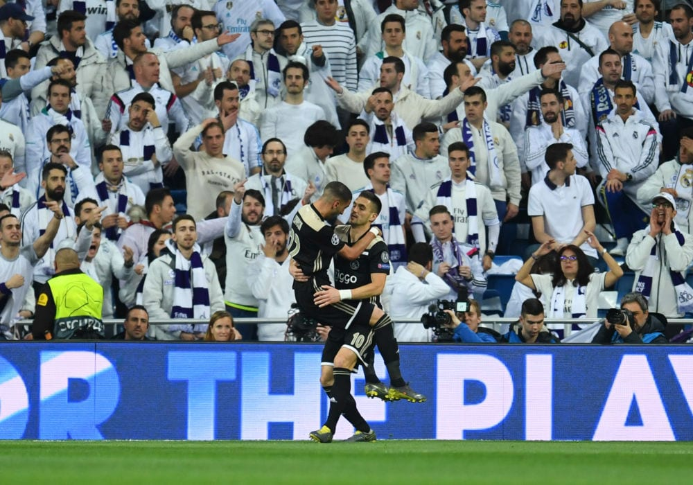 Real Madrid Ajax (Getty Images)
