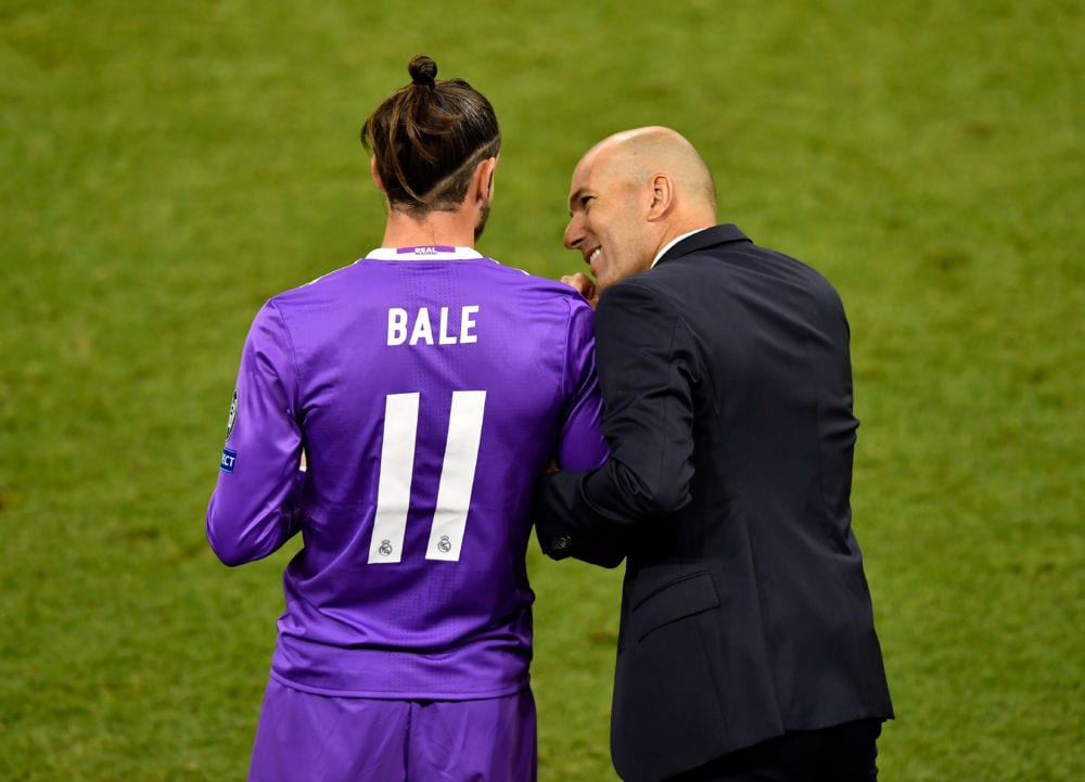 Gareth Bale & Zinedine Zidane (Getty Images)