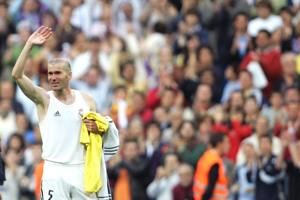 despedida de Zidane como jugador