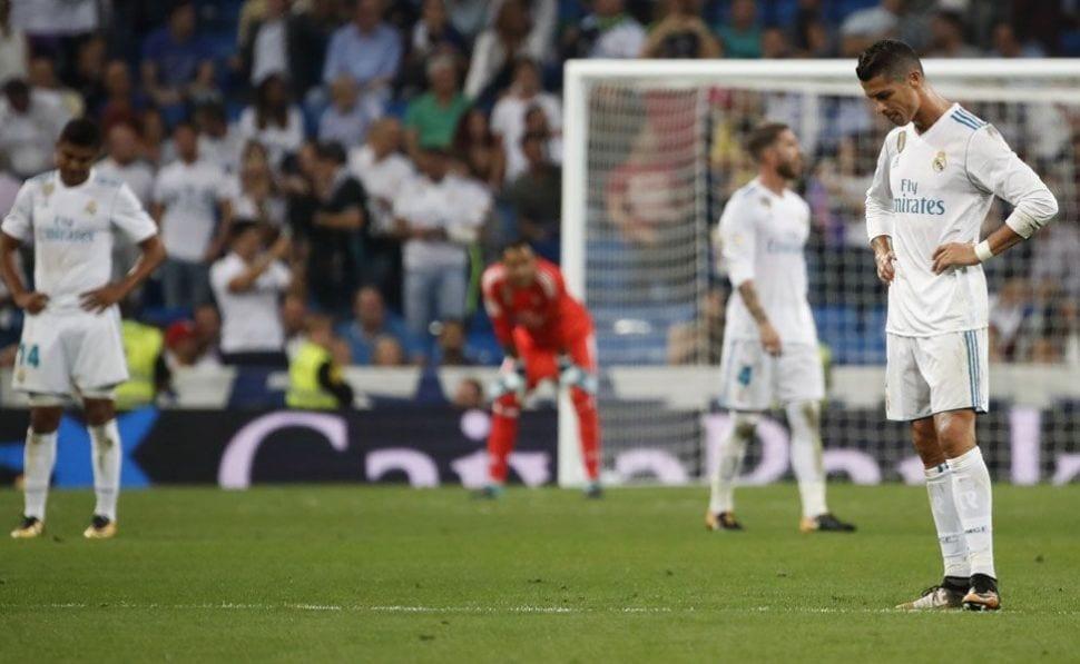 Las derrotas del Real Madrid