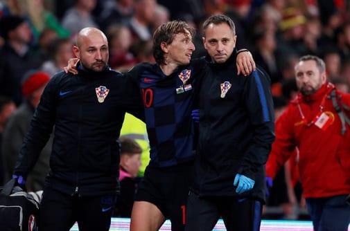 Las lesiones de Modric y Bale