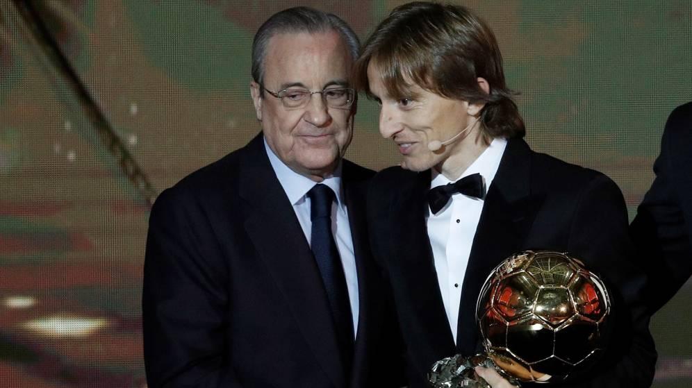 Balón de Oro y Real Madrid