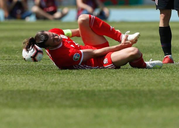 Gareth Bale en un Croacia vs Gales
