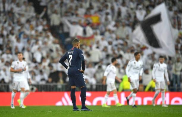 Kylian Mbappé en el Bernabéu