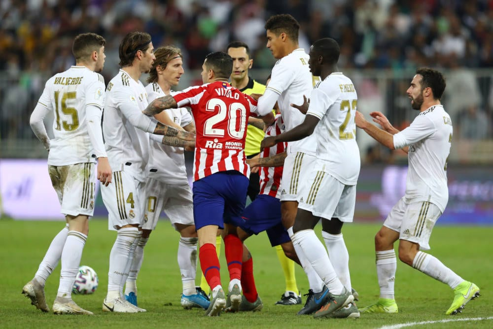 Atletico de Madrid Real Madrid (Getty Images)