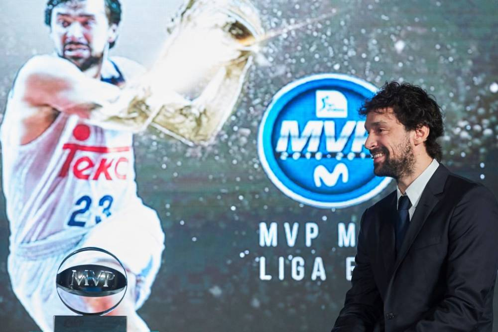 Sergio Llull, MVP de la Liga Endesa en 2017.