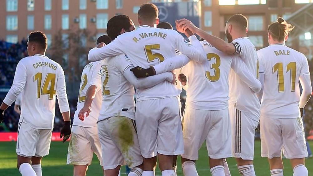 Cambio de juego Real Madrid