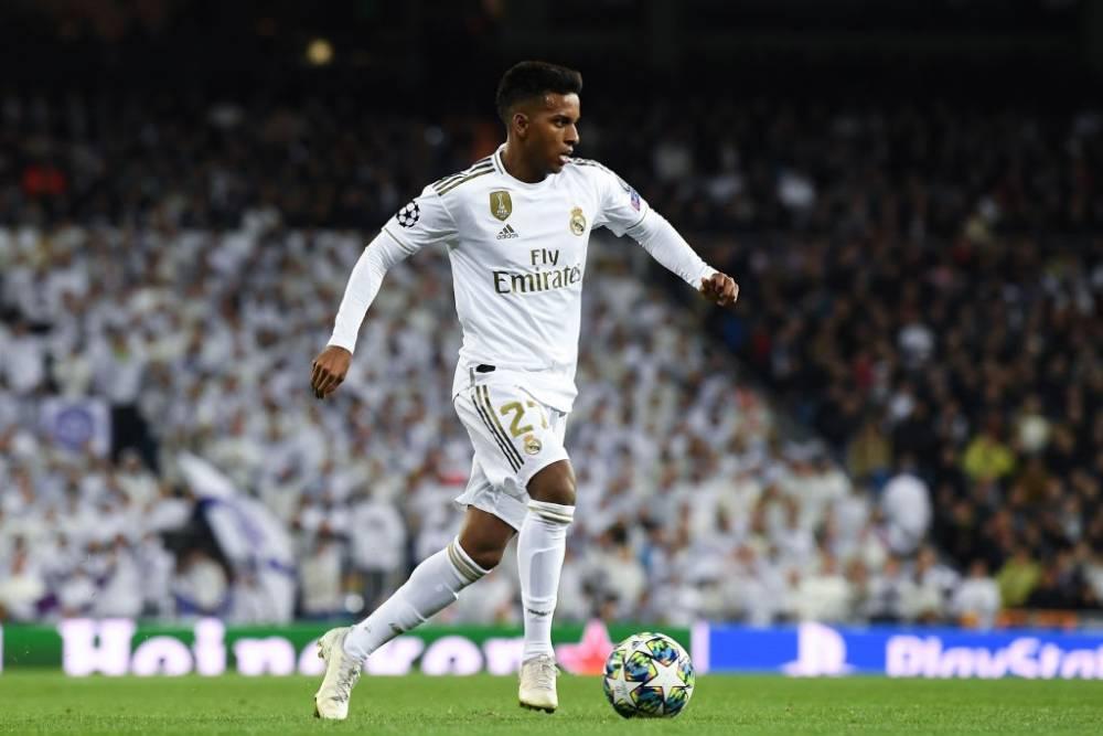Rodrygo en el Bernabéu